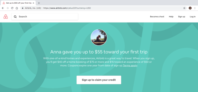 Airbnb $55 Off Your First Trip – Missfunanna
